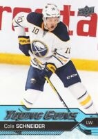 2016-17 Upper Deck Hockey #517 Cole Schneider YG RC Buffalo Sabres