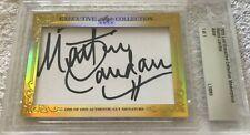 Martin Landau 2015 Leaf Masterpiece Cut Signature 1/1 signed autograph card JSA