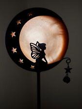 Solar Powered Mystical Silhouette Fairy  Stake Light Garden/ Border/Driveway