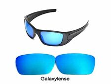 Galaxy Replacement Lenses For-Oakley Fuel Cell Sunglasses Ice Blue Polarized