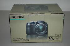 "Fujifilm Fuji Finepix S4000 720p HD 14MP Digital Camera 30X SWAOZ Lens 3"" LCD VG"
