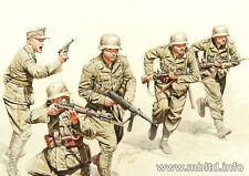 German Infantry, DAK, WWII, North Africa desert battles 1/35 Master Box 3593 DE
