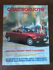 Quattroruote n 454 agosto 1993 - BMW 325 Cabrio, Mercedes C180, Ferrari Spider