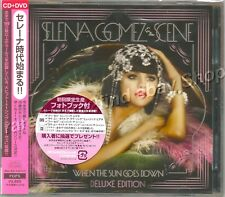 Selena Gomez & The Scene WHEN THE SUN GOES DOWN CD+DVD Japan Deluxe Edition