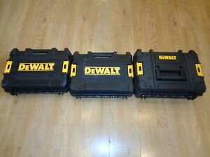 DeWalt XR T-Stack Tstack Combi Drill Driver Carry Case Tool Box x 3