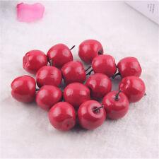 50pcs Artificial Mini Apples Multi-colors Faux Fruit DIY Crafts Party Home Decor