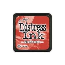 Tim Holtz Mini Distress Ink Pad Fired Brick Red, Crimson