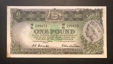 1953 Coombs/Wilson £1 aEF (R34b) - S/N: HB41-299473