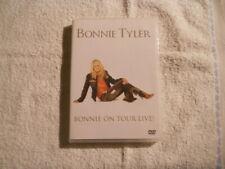 """Bonnie Tyler """"Bonnie on tour Live!"""" 2006  DVD Live in Paris   100 Min New $"""