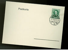 1936 Hamburg Germany postcard First Day Cover # 472 FDC