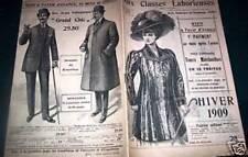 """CATALOGUE """" AUX CLASSES LABORIEUSES"""" HIVER 1909"""