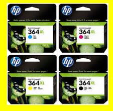4 orig. HP 364XL Photosmart B110A B110C B110E PLUS B209A B209C B210A B210C NUEVO