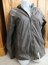quicksilver brown short jacket women's size 12