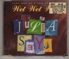 (F386) Wet Wet Wet, Julia Says - used CD