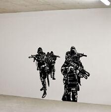 Navy Seals Special Forces Huge Wall Vinyl Decal,team 6 st6 DEVGRU Delta force