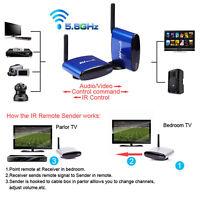 5.8G Wireless AV TV Audio Video Signal Sender Transmitter Receiver 200M PAT-630