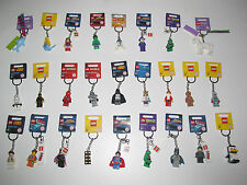 Lego ® Porte Clés Minifig Star Wars Ninjago Super Heroes Marvel Choose Keychain