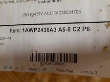 Cotterman 1AWP2436A3 A5-8 C2 P6 Steel Work Platform - New in Box