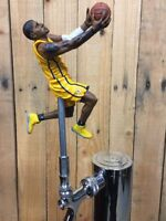 Indianapolis Pacers Beer TAP HANDLE Keg NBA Basketball Yellow Jersey Paul George