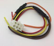 ROCKFORD FOSGATE 6 pin Speaker output remote Female HARNESS plug PUNCH 45 75 150