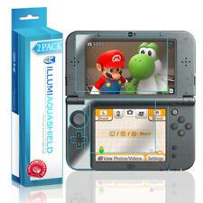 2x iLLumi AquaShield Crystal HD Screen Protector for New Nintendo 3DS XL (2015)