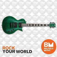 ESP LTD EC-1000 Eclipse Electric Guitar FM See Thru Green w/ Seymour Duncans