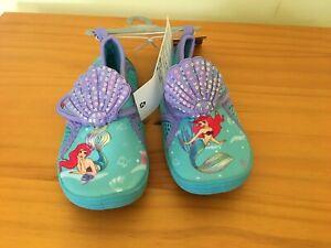 NWT Disney Store Ariel Swim Shoes Water Shoes Pool Bathing