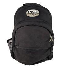 Ping Golf Black Water Bottle Pouch Pocket Backpack Bag 16�