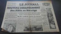 Newspapers The Journal N°17358 Monday 29 April 1940 ABE