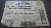 Periodico El Diario N º 17358 Lunes 29 Abril 1940 ABE