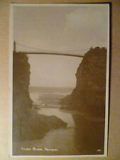 09 July 1906 Postcard- ISLAND BRIDGE, NEWQUAY, Cornwall/ Scilly Isles +Stamp