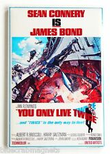 You Only Live Twice FRIDGE MAGNET (2 x 3 inches) movie poster james bond