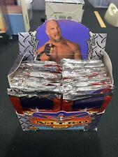 WCW World Championship Wrestling TCG Nitro Slap Pack Booster Box - Opened