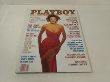 Playboy Magazine January 1990 Sizzling Hollywood Newcomer Joan Severance eb3337