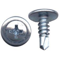 500 Pcs Phillips Truss Head Sheet Metal Self Drilling Screw 18-8 #8 x 1/2''