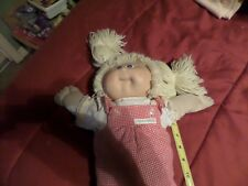 Cabbage Patch Kids Blonde Hair Blue Eyes Shirt Dress and Diaper