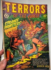 Terrors of the Jungle # 18 1952