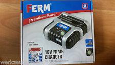 Ferm Ladegerät CDA1054 FPL-1800 NiMH 18V - NEU & OVP 60 Min ladezeit!