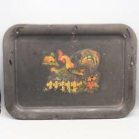 Vintage Farmhouse Rooster Serving Tray