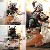 Naruto Jiraiya Gama Sennin Gamabunta Shippuden Statue PVC Anime Figuren Figur NB