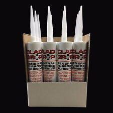 Clad Grip Box Of General Purpose Bathroom Panel & Ceiling Cladding Adhesive Glue