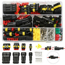 240PCS 1-6 Pin Way Wire Electrical Waterproof Connector Terminals Assortment Kit