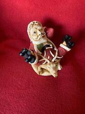 "Harmony Kingdom ""Holy Roller"" 1999 Santa Claus Holiday Exclusive Figurine Box"