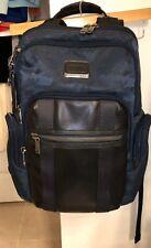 Tumi Alpha Bravo Nellis Laptop Business Casual Backpack Urban Blue Camouflage