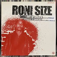 """RONI SIZE - (WITH) OUT OF BREATH / SHOULDER TO (12"""")  2004!!  RARE!!!  RAHZEL!!!"""