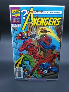 What If...? #108 3rd Appearance of Cosmic Carnage Marvel 1998 Spider-Man VF+