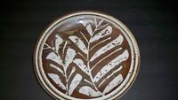 INDEPENDENCE STONEWARE TAOS RETIRED VINTAGE DINNER PLATE  10 1/4''