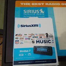 Sirius Stratus 7 with Car Kit Brand New