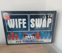 WIFE SWAP DVD TRIVIA BOARD GAME -NEW