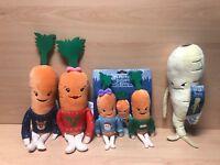 Aldi Kevin The Carrot 2018 Katie Kids & Baby & Parsnip Xmas Plush Soft Family